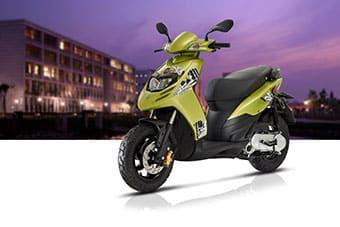 scooter huren kos